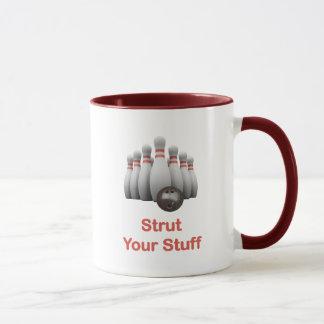 Strut Your Stuff Bowling Mug