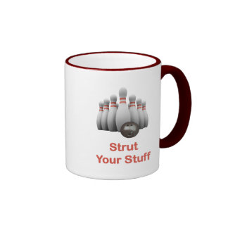 Strut Your Stuff Bowling Ringer Mug