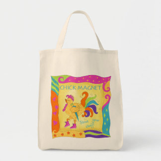 Strut Your Stuff Chick Magnet Grocery Bag