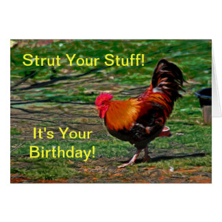 Strut Your Stuff - It s Your Birthday Card