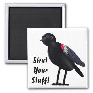 Strut Your Stuff! Refrigerator Magnets