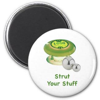 Strut Your Stuff Pinball Refrigerator Magnets