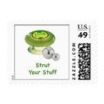 Strut Your Stuff Pinball Stamp
