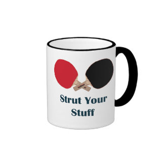 Strut Your Stuff Ping Pong Ringer Mug