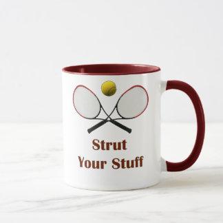 Strut Your Stuff Tennis Mug