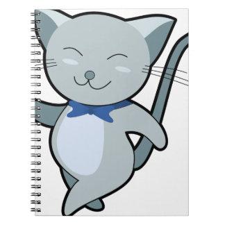 Strutting Cat Notebook