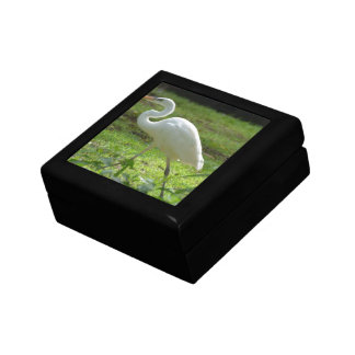 Strutting Egret Jewelry Boxes
