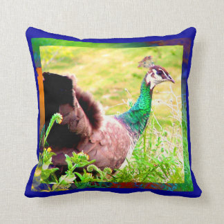 Strutting Your Stuff Throw Pillow