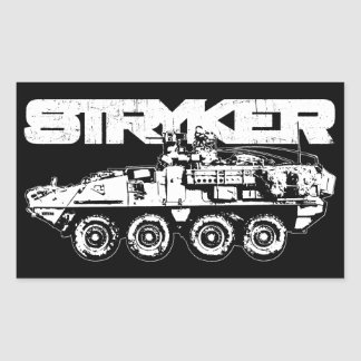 Stryker Rectangle Stickers