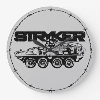 Stryker Round (Large) Wall Clock