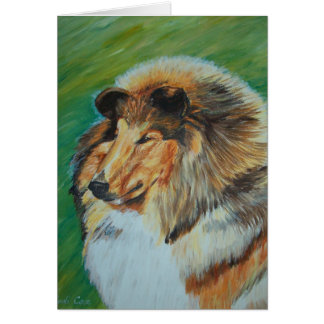 Stryker, Show Dog - Greeting Card