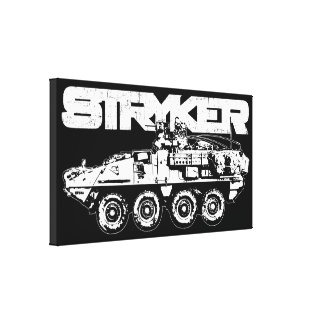 Stryker Wrapped Canvas