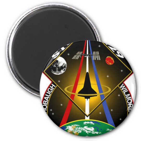 sts129 SPACE SHUTTLE Magnet