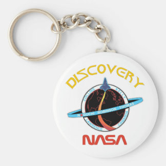 STS 114 Discovery:  Return To Flight Basic Round Button Keychain