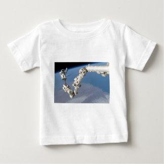 STS-114_Steve_Robinson_on_Canadarm2.jpg Baby T-Shirt