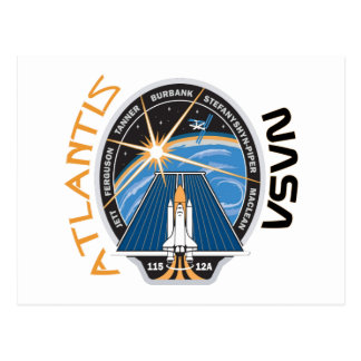 STS 115 Atlantis Postcard
