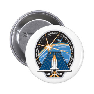 STS 115 Mission Patch Pinback Buttons