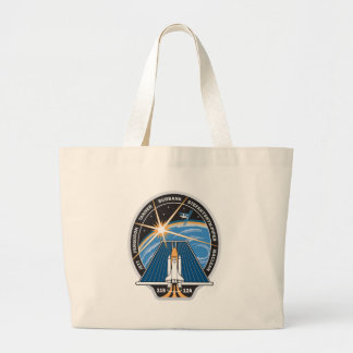 STS 115 Mission Patch Large Tote Bag