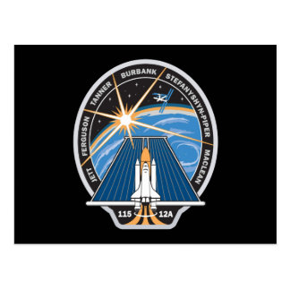STS 115 Mission Patch Postcard