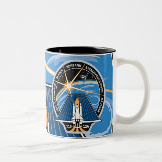 STS-115 NASA Patch Two-Tone Coffee Mug
