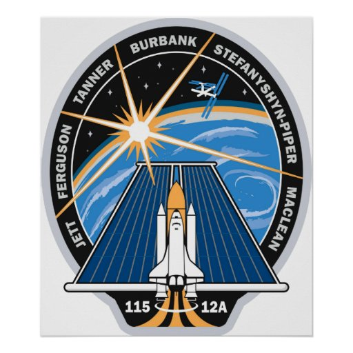 STS-115 Patch Poster