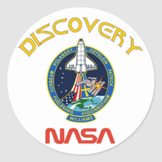 STS 116 Discovery Classic Round Sticker