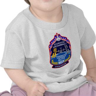 STS 117 la Atlántida Camiseta