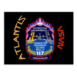 STS 117 la Atlántida Tarjeta Postal