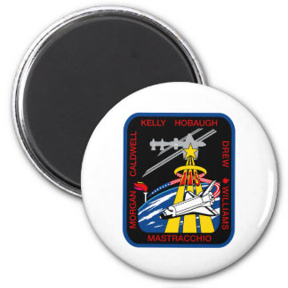STS 118 Mission Patch 2 Inch Round Magnet