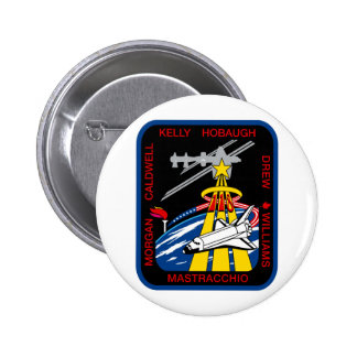 STS 118 Mission Patch Pin