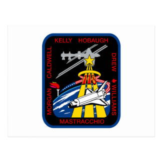 STS 118 Mission Patch Postcard