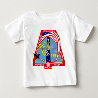 STS 119 Discovery Baby T-Shirt