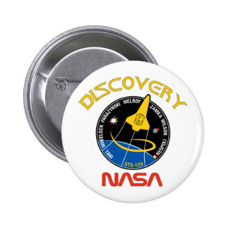 STS 120 Discovery Pins