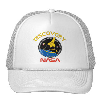 STS 120 Discovery Mesh Hats