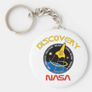 STS 120 Discovery Keychain