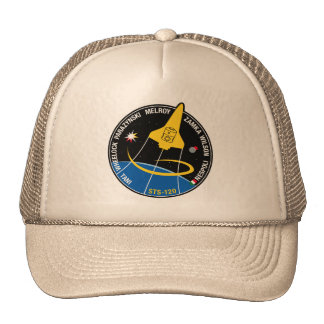 STS 120 Mission Patch Trucker Hat