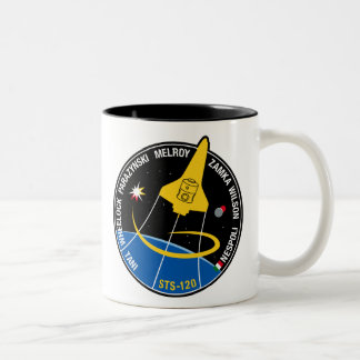 STS 120 Mission Patch Two-Tone Coffee Mug