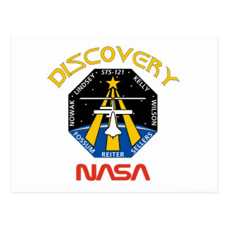 STS 121 Discovery Postcard