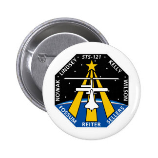STS 121 Mission Patch Pins