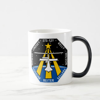 STS 121 Mission Patch Magic Mug