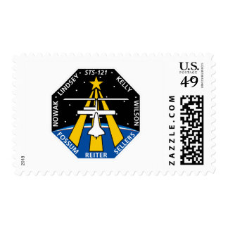 STS 121 Mission Patch Postage