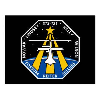 STS 121 Mission Patch Postcard