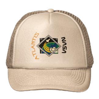 STS 122 Atlantis Trucker Hat