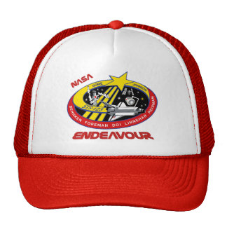 STS 123 Endeavour Trucker Hat