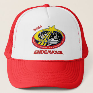 STS 123 Endeavour Trucker Hat