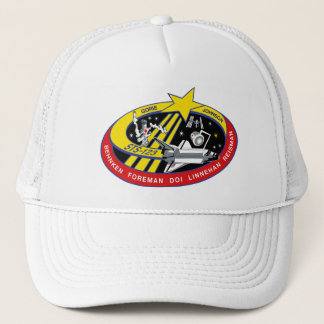 STS 123 Mission Patch Trucker Hat