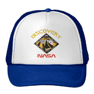 STS 124 Discovery Trucker Hat