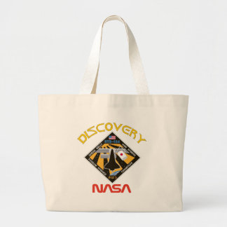 STS 124 Discovery Large Tote Bag