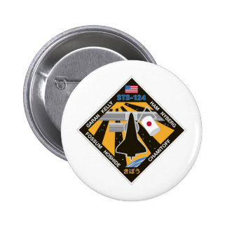 STS 124 Mission Patch Pin