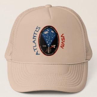 STS 125 Atlantis Trucker Hat